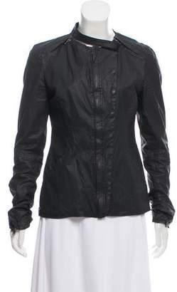 Ilaria Nistri Coated Cotton Convertible Jacket