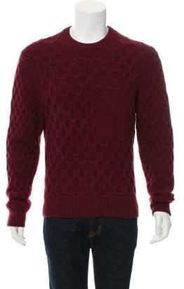 Kent & Curwen Cashmere-Blend Cable Knit Sweater