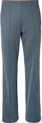 Maison Margiela Slim-Fit Satin-Trimmed Tech-Jersey Track Pants - Men - Gray