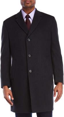Kenneth Cole New York Raburn Charcoal Coat