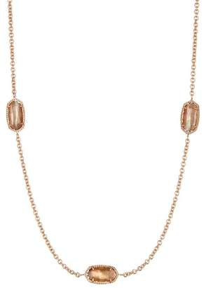 Kendra Scott Kellie Mother of Pearl Station Necklace