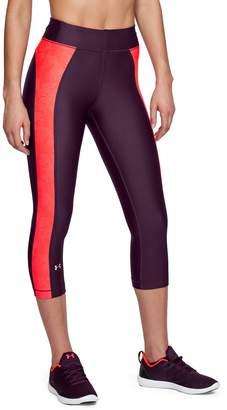 Under Armour Women's HeatGear Novelty Capri Leggings