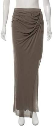 Helmut Lang Knit Maxi Skirt