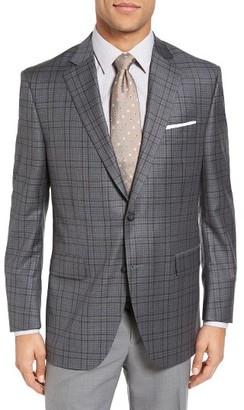 Men's Peter Millar Classic Fit Plaid Sport Coat $595 thestylecure.com