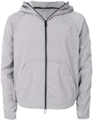 Emporio Armani waterproof zipped jacket
