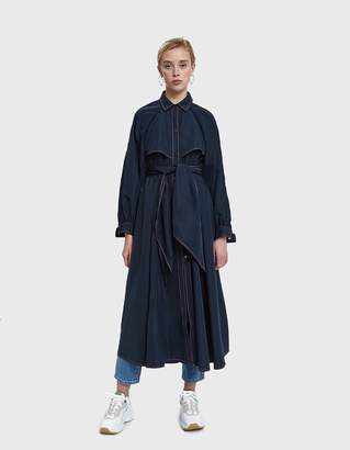 Ganni Comstock Trench Coat