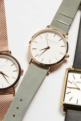 Rosefield Watches West Village Suede Watch