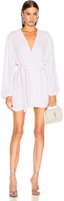 retrofete Gabrielle Robe Dress in Pearl White | FWRD