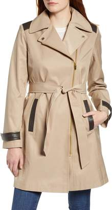 Via Spiga Water Repellent Trench Coat