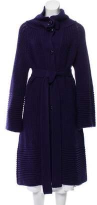 Emilio Pucci Virgin Wool Longline Cardigan