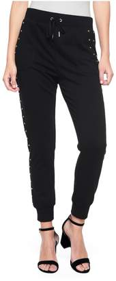 Juicy Couture Studded French Terry Slim Pant