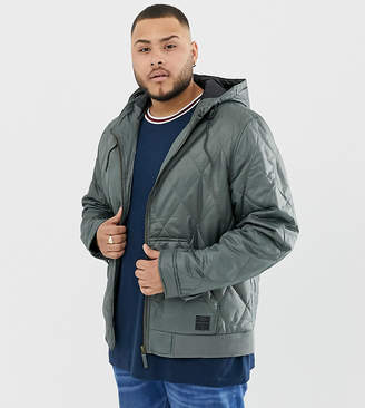 Ringspun PLUS Quilted Hooded Jacket