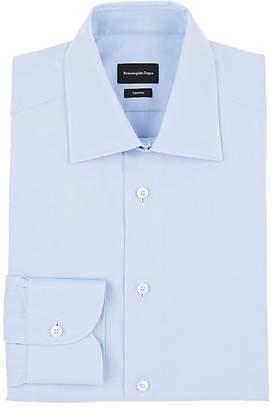Ermenegildo Zegna Men's Trofeo Cotton Twill Dress Shirt