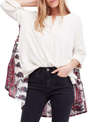 Free People Cool Baby Oversized Cotton Top