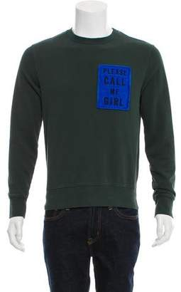 Acne Studios Casey Patch Crew Neck Sweater