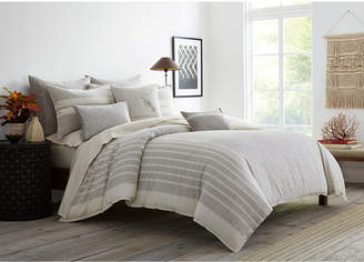ED Ellen Degeneres Claremont Grey King Duvet Cover Bedding