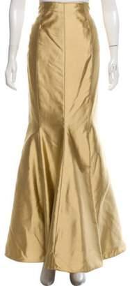 Melinda Eng Evening Maxi Skirt Gold Melinda Eng Evening Maxi Skirt