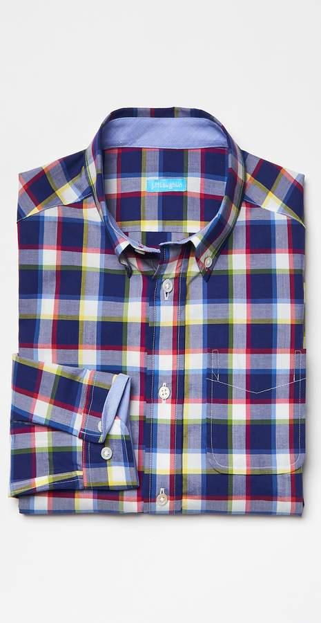 Boys' Carnegie Shirt in Big Check