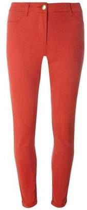 Dorothy Perkins Womens Orange Sateen Chino Trousers