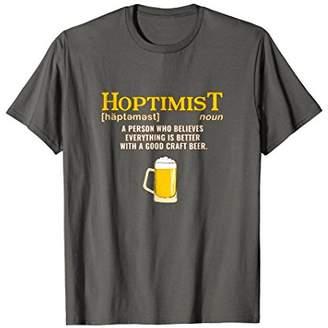 Hoptimist T Shirt for Craft Beer