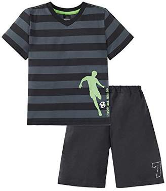 Schiesser Boy's Pyjama Sets - Grey - 18-24 Months