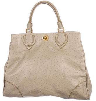 Marc by Marc Jacobs Embossed Leather Satchel