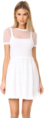 RED Valentino Point d'Esprit Dress $695 thestylecure.com