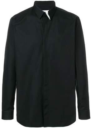 Givenchy graphic collar shirt