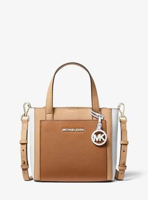 MICHAEL Michael Kors Gemma Small Tri-Color Pebbled Leather Crossbody