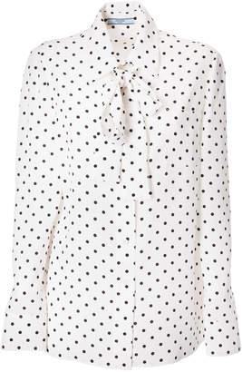 Prada Polka-dot Shirt
