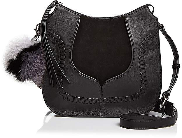 Botkier Grove Leather and Suede Crossbody