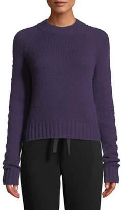 Vince Shrunken Mock-Neck Cashmere Sweater