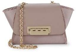 Zac Posen Eartha Mini Leather Crossbody Bag