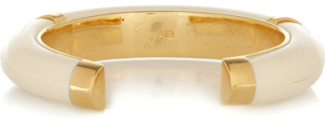 Caftan Moon gold-plated resin cuff