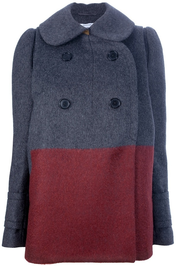 Carven Double-breasted coat