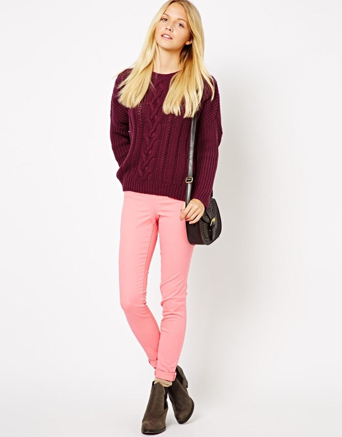 Pieces Pink Jegging