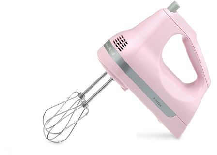 KitchenAid 9-Speed Hand Mixer, Pink