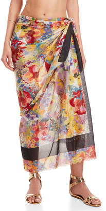 Stella McCartney Floral Sarong Cover-Up