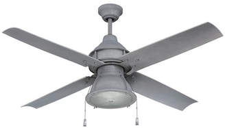 "17 Stories 52"" Martika 4 Blade Outdoor LED Ceiling Fan, Light Kit Included"