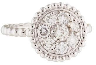 Ring 18K Diamond Cluster