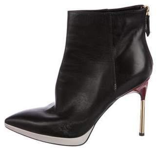 Pollini Pointed-Toe Booties