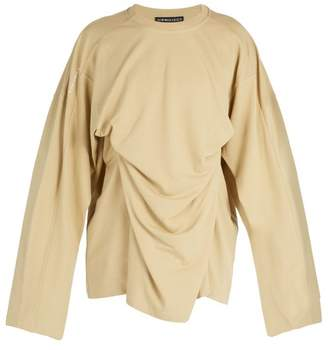 Y/Project Double Layer Cotton Blend Pique Top - Mens - Beige