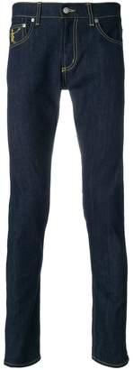 Alexander McQueen Funny Bones skinny jeans