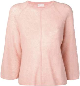 By Malene Birger 3/4 sleeve knitted top