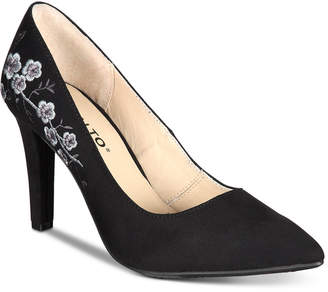 Rialto Mackenna Embroidered Pumps Women's Shoes