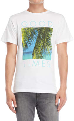 Body Rags Good Times Palm Tree Tee