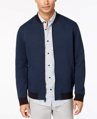 Alfani Men's Textured Bomber Jacket, Created for Macy's