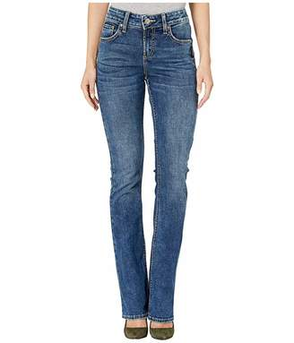 Silver Jeans Co. Avery High-Rise Curvy Fit Slim Boot Jeans in Indigo L94627SDK332