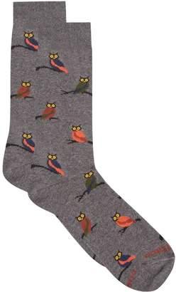 Dore Dore Owl Print Socks