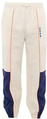 Ader Error X Ader Error X Panelled Technical Fabric Track Pants - Mens - Cream